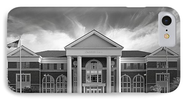 Centre College - Crounse Hall Phone Case by University Icons