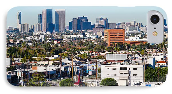 Century City, Beverly Hills, Wilshire IPhone 7 Case by Panoramic Images