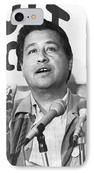 Cesar Chavez Announces Boycott IPhone Case by Underwood Archives