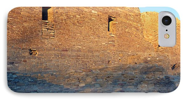 Chaco Canyon Indian Ruins, Sunset, New IPhone Case by Panoramic Images