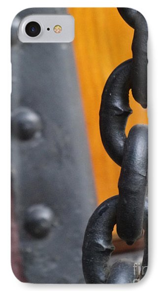 Chain And Rivets Phone Case by Lyric Lucas
