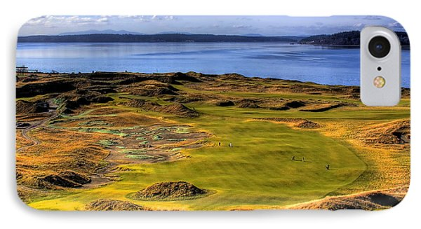 Chambers Bay Golf Course II Phone Case by David Patterson