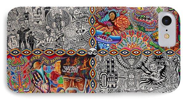 Chaos Culture Jam Phone Case by Chris Dyer
