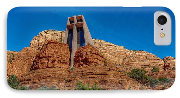 Chapel Of The Holy Cross Sedona Az Front Phone Case by Scott Campbell