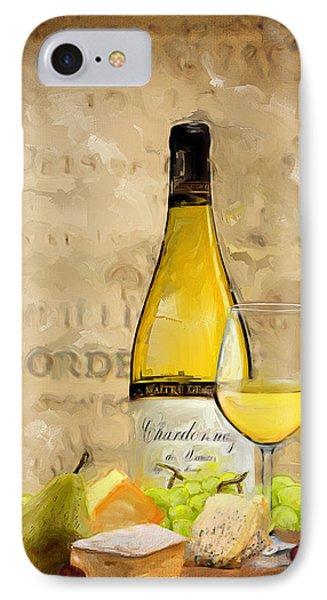 Chardonnay Iv IPhone Case by Lourry Legarde