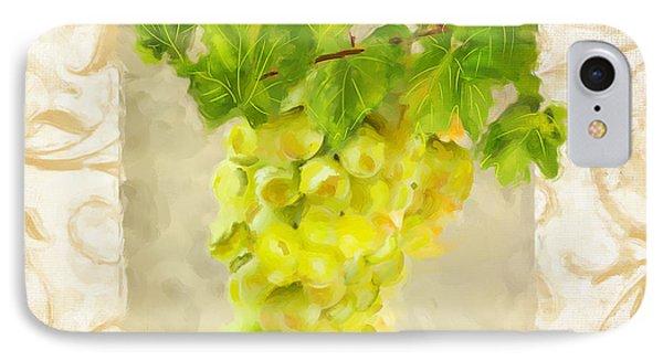 Chardonnay IPhone Case by Lourry Legarde