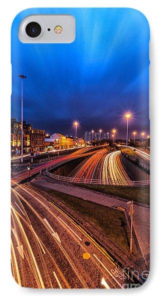 Charing Cross Glasgow Phone Case by John Farnan