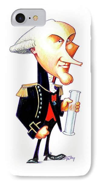 Charles Coulomb IPhone Case by Gary Brown