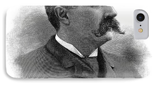 Charles Francis Brush (1849-1929) IPhone Case by Granger