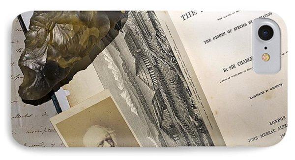 Charles Lyells Antiquity Of Man 1863 Phone Case by Paul D Stewart
