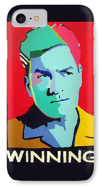 Charlie Sheen Winning Phone Case by Venus