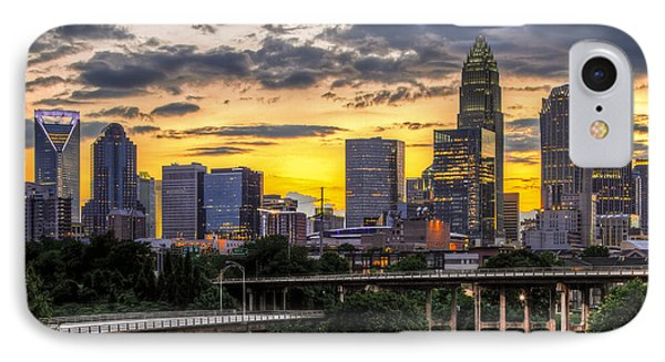 Charlotte Dusk IPhone 7 Case by Chris Austin