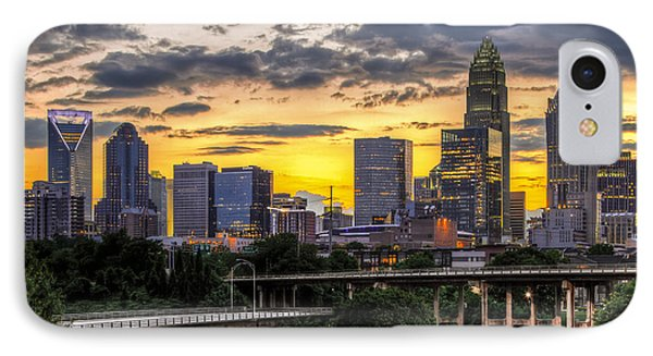 Charlotte Dusk IPhone Case by Chris Austin