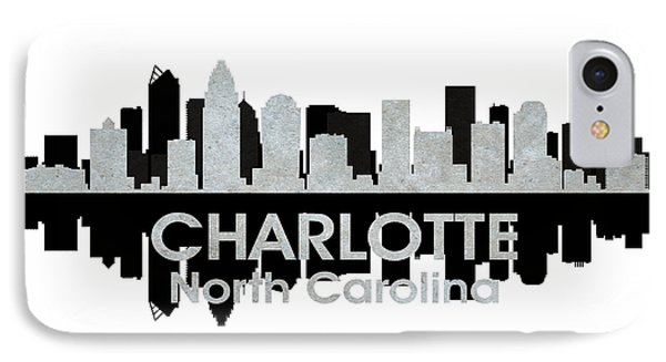 Charlotte Nc 4 Phone Case by Angelina Vick