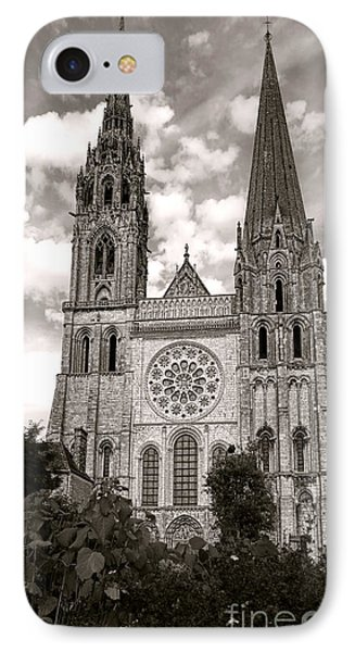 Chartres Cathedral IPhone Case by Olivier Le Queinec