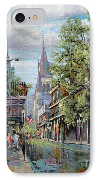 Chartres Rain Phone Case by Dianne Parks