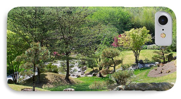 Cheekwood Japanese Garden IPhone Case by Donna Melton