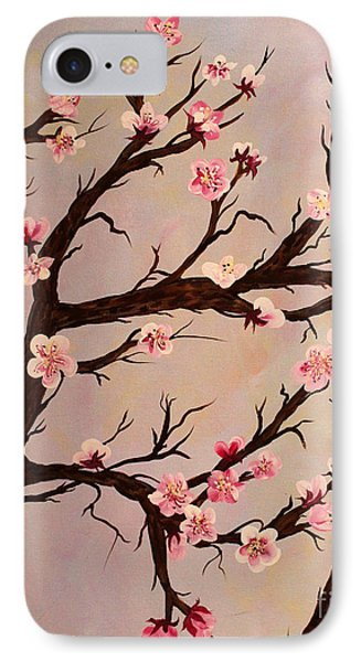 Cherry Blossom 1 Phone Case by Barbara Griffin