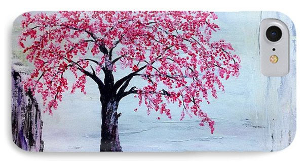 Cherry Blossom  Phone Case by Renate Voigt