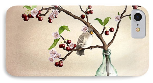 Cherry Coke IPhone Case by April Moen