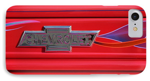 Chevrolet Emblem IPhone Case by Carol Leigh