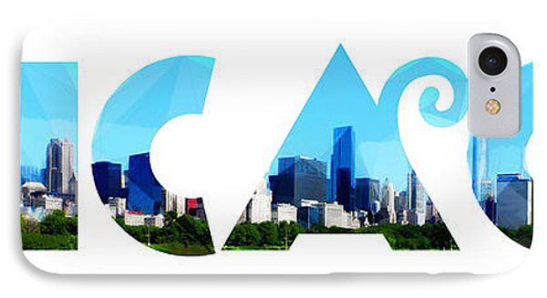 Chicago  IPhone Case by Celestial Images