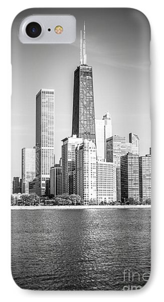 Chicago Hancock Building Black And White Picture IPhone Case by Paul Velgos