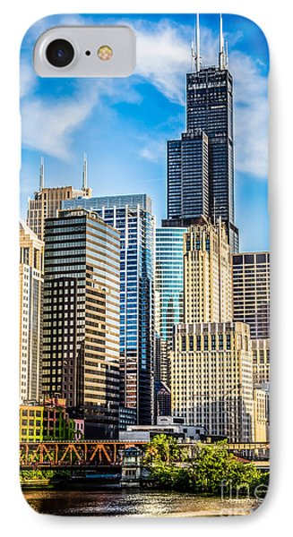 Chicago High Resolution Picture IPhone Case by Paul Velgos