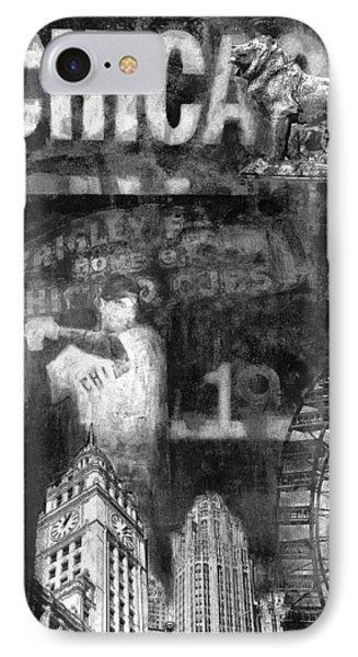 Chicago Memories In Black And White IPhone Case by Joseph Catanzaro