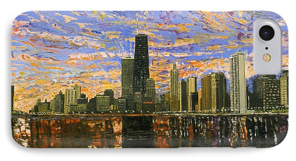 Chicago IPhone 7 Case by Mike Rabe