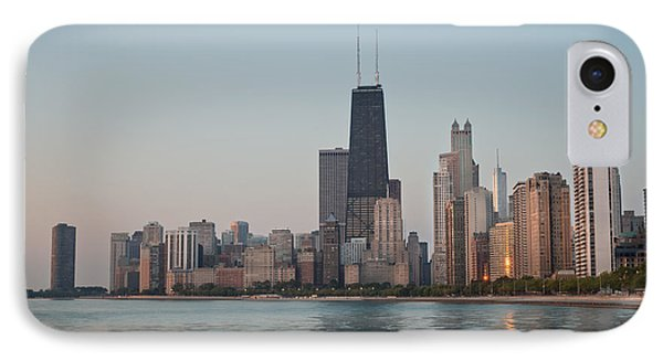 Chicago Morning IPhone Case by Steve Gadomski