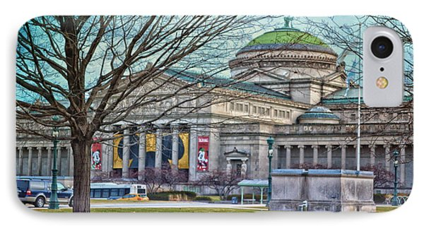 Chicago Msi Hdr Textured  IPhone Case by Thomas Woolworth