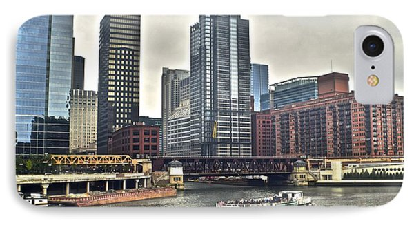 Chicago River IPhone Case by Frozen in Time Fine Art Photography