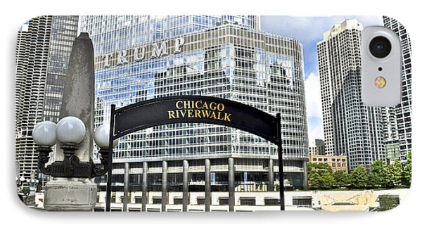 Chicago Riverwalk IPhone Case by Frozen in Time Fine Art Photography