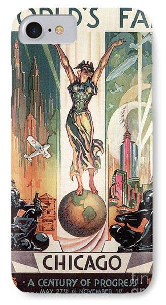 Chicago World's Fair 1933 Phone Case by Granger