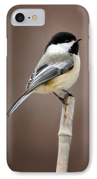Chickadee IPhone 7 Case by Bill Wakeley