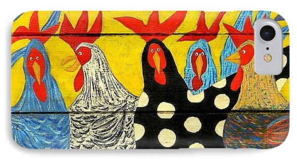Chicken Posse IPhone Case by John Blake