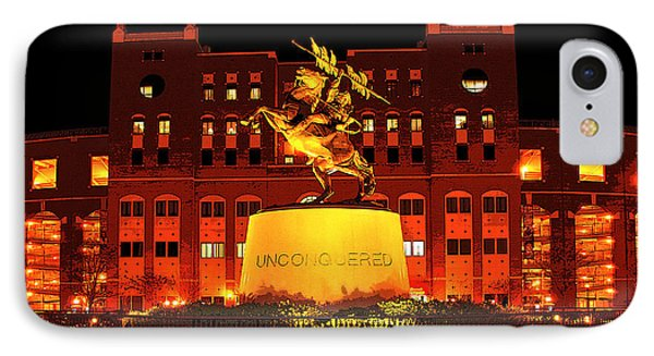Chief Osceola And Renegade Unconquered IPhone 7 Case by Frank Feliciano