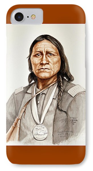 Chief Satanta IPhone Case by Art By - Ti   Tolpo Bader