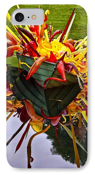 Chihuly Float IPhone Case by Diana Powell