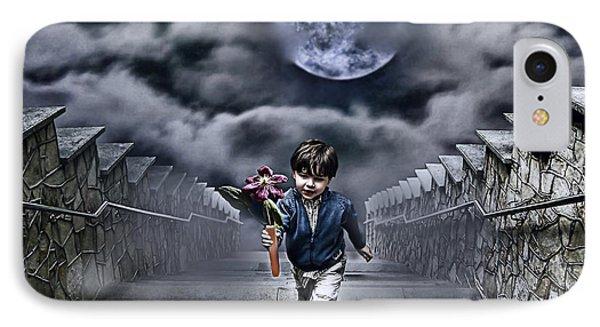 Child Of The Moon IPhone Case by Joachim G Pinkawa