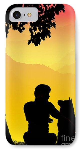 Childhood Dreams 4 Best Friends IPhone Case by John Edwards