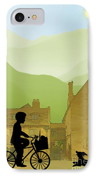 Childhood Dreams Special Delivery IPhone Case by John Edwards