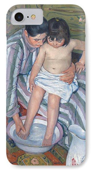 Child's Bath 1893 IPhone Case by  Mary Stevenson Cassatt