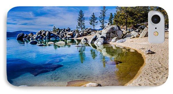 Chimney Beach Lake Tahoe Shoreline Phone Case by Scott McGuire