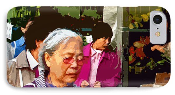 Chinatown Marketplace Phone Case by Joseph Coulombe