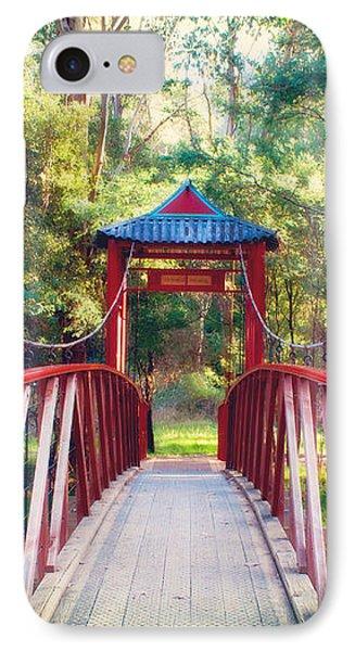 Chinese Bridge Wandiligong IPhone Case by Linda Lees