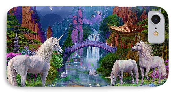 Chinese Unicorns IPhone 7 Case by Jan Patrik Krasny