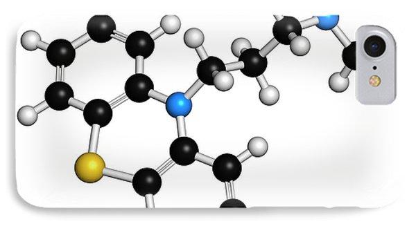 Chlorpromazine Antipsychotic Drug IPhone Case by Molekuul