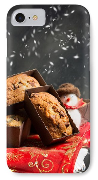 Choc Chip Muffins IPhone Case by Amanda Elwell